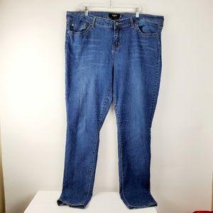 Torrid Boyfriend Blue Jeans Medium Wash 22 Tall